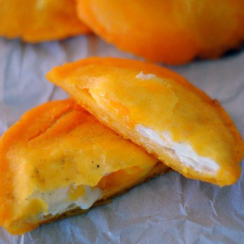 Arepa de Huevo (Egg Stuffed Arepa)